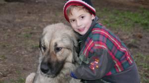 Kara-Baska Az 5 éves Levente Fiammal